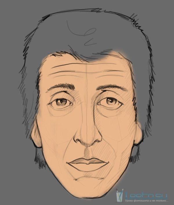 как рисовать человека в фотошопе: