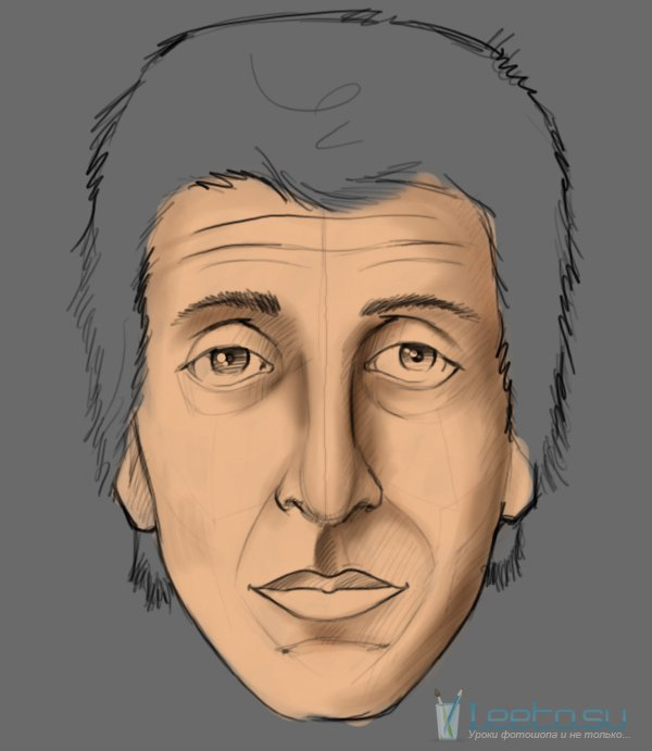 Как нарисовать человека в фотошопе