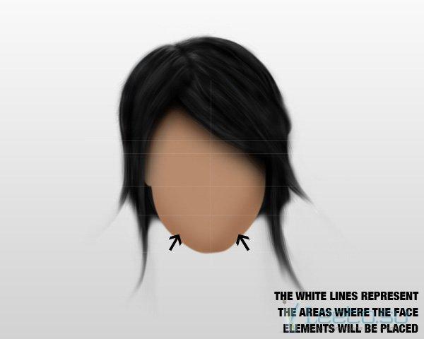 как нарисовать девушку в фотошопе: