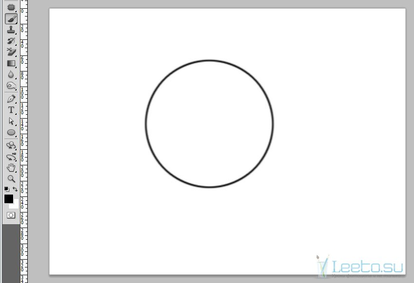 Как в фотошопе сделать круг фото 389