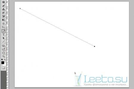 Как сделать толстые линии в фотошопе