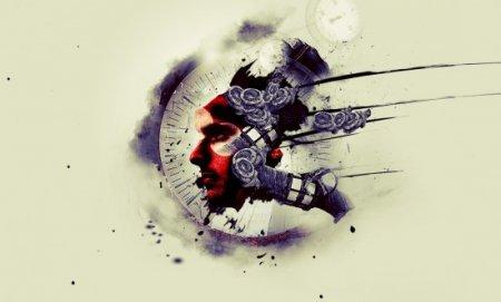 Абстрактный механический человек в ...: leeto.su/uroki_photoshop/foto